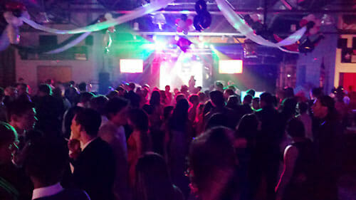 video disc jockey dance party